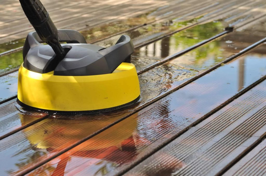 Cleaning your deck is more living space for you and your family!