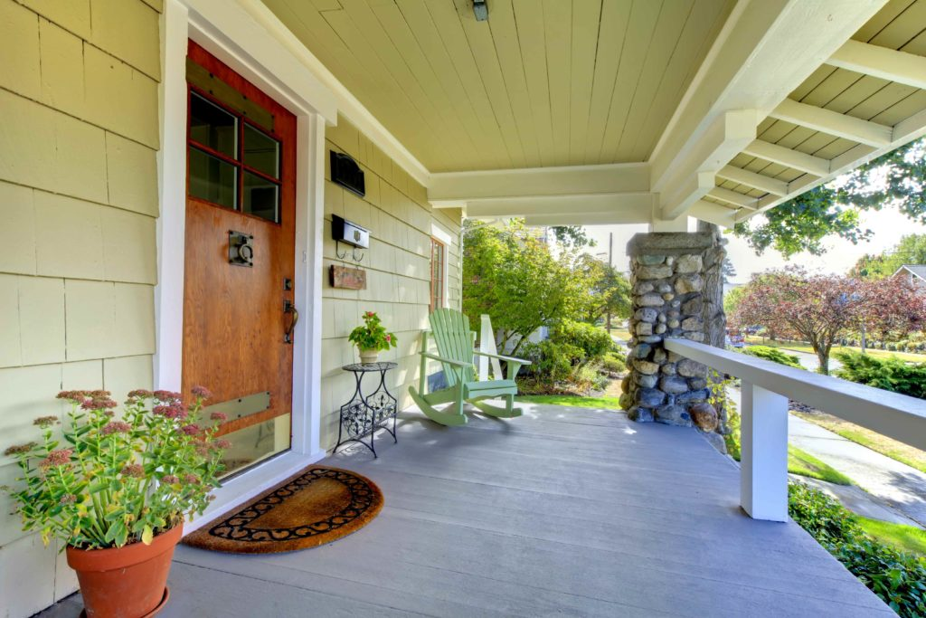 When your entrance is clean it gives wonderful curb appeal and is safe for your family.